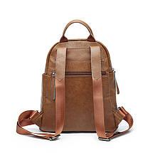 Рюкзак женский коричневый Nancy Brown, фото 3
