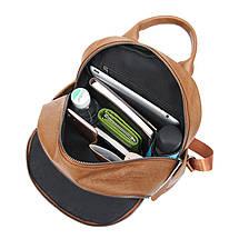 Рюкзак женский коричневый Nancy Brown eps-8059, фото 3
