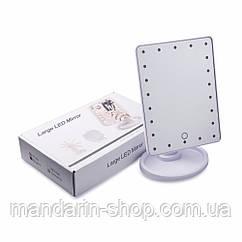 Зеркало с подсветкой LED, ящик 36 шт.