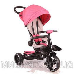 Stokke Modi Crosser T 600 дитячий триколісний велосипед рожевого кольору