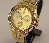 Часы Rolex 012533 женские золото стразы