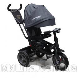 CROSSER T-400 TRINITY ECO AIR дитячий триколісний велосипед сірий