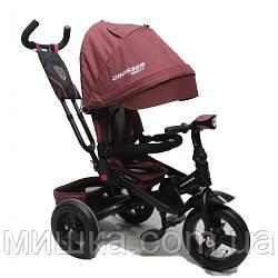CROSSER T-400 TRINITY ECO AIR дитячий триколісний велосипед теракотовий