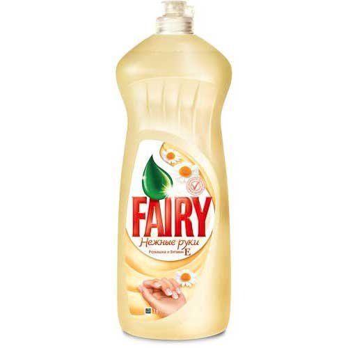FAIRY 1000мл ромашка+витамин Е моющее средство для посуды Укр