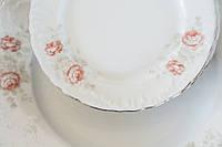 Набор тарелок Rococo Розы 18 пр