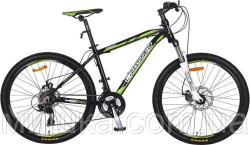 """Велосипед алюминиевый горный Crosser Count*17 26"""" серый"""