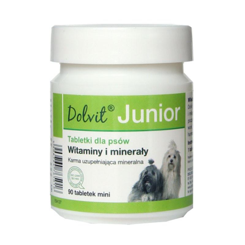 Dolfos Junior мини 90 таблеток- витаминно-минеральный комплекс для щенков