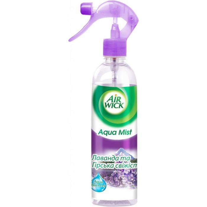 Ароматизатор воздуха Agua Mist лаванда+горная свежесть АIRWICK 345мл