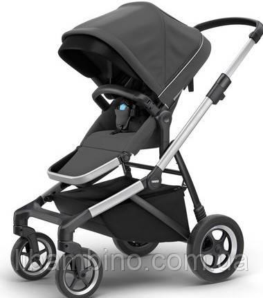 Дитяча універсальна коляска преміум класу Thule Sleek Charcoal Grey