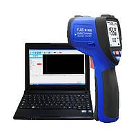 Пірометр FLUS IR-862U (-50...+1350 ºC; EMS 0,1-1,0) ПО, Кейс (50:1), фото 1