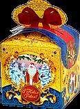"""Новорічна Упаковка """"Бант Ведмежа"""" для солодких подарунків 500-700 г, фото 4"""