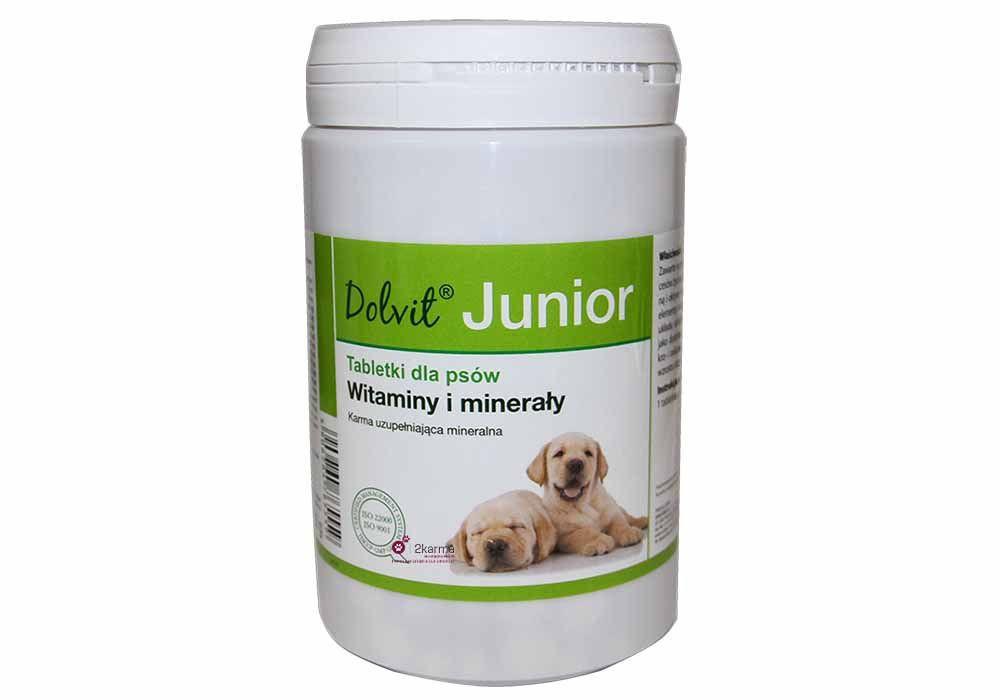 Dolfos Junior 90 таблеток - витаминно-минеральный комплекс для щенков