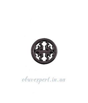 Декор мелкий 18 мм черный никель, фото 2