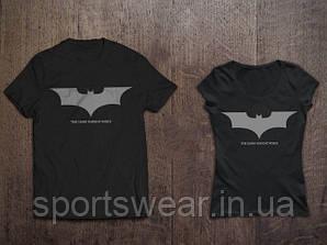 """Мужская   черная   Футболка  Бэтмен  Темный рыцарь Batman """""""" В стиле Marvel """""""""""