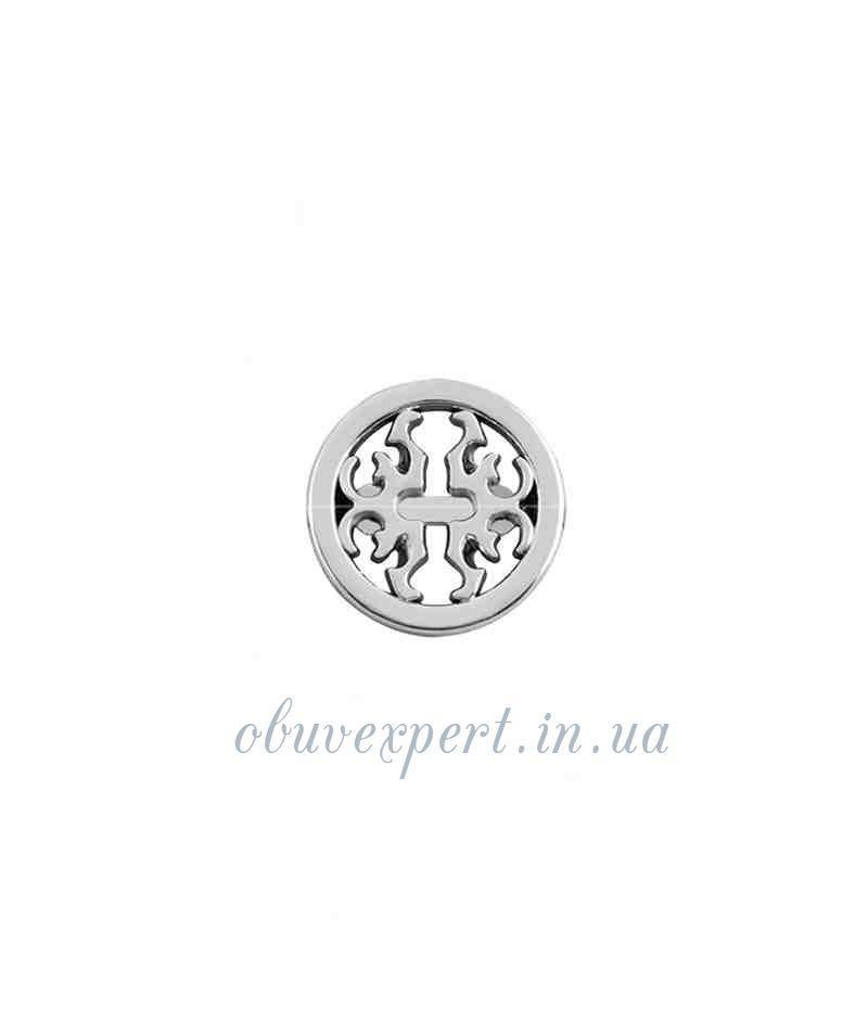 Декор мелкий 18 мм Серебро