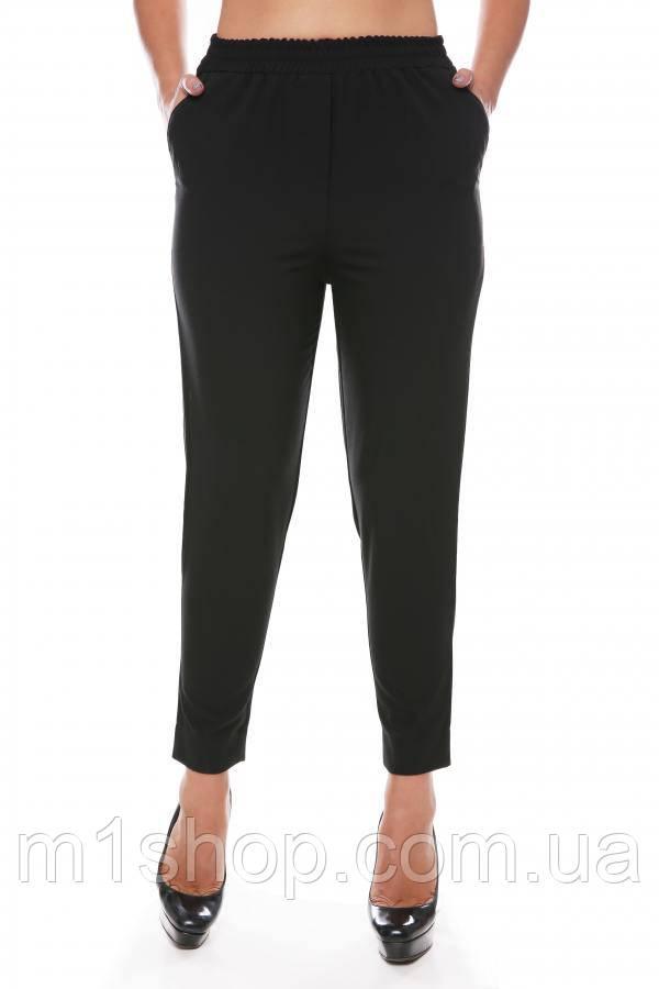 08676aba2694 Женские укороченные брюки на резинке больших размеров (Tiar batal art)