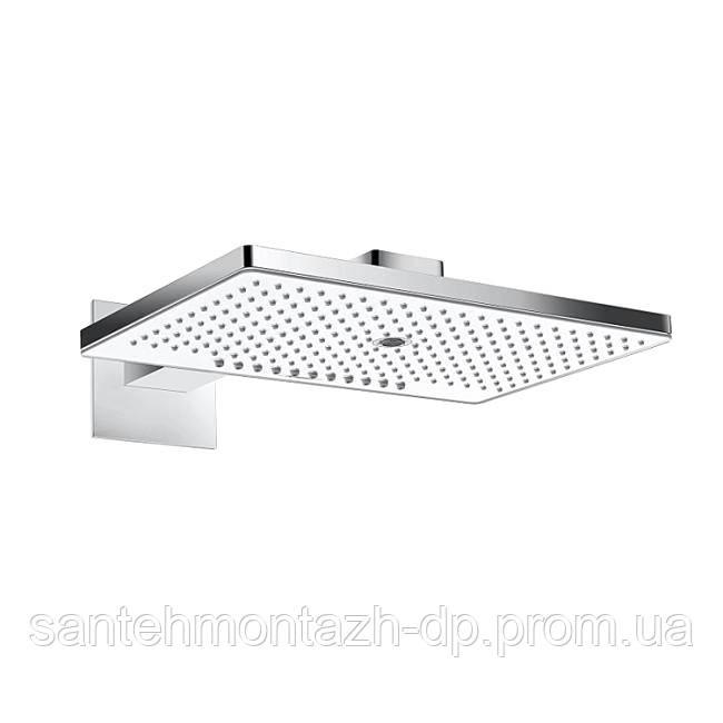 Rainmaker Select 460 3jet Верхний душ с держателем (белое стекло)