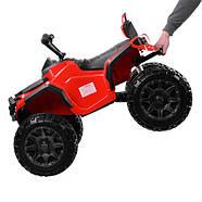 Детский квадроцикл M 3156EBLR-3, красный Гарантия качества Быстрая доставка, фото 3