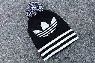 Шапка зимняя Adidas / SPK-407 (Реплика)