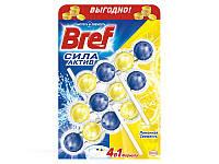 Гель для унитаза БРЕФ триопак 3*4шарики 3*50мл лимон