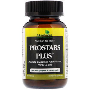 Пищевая добавка Prostabs Plus, 90 таблеток FutureBiotics