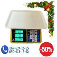 Электронные весы торговые Domotec  40 кг 4V с аккумулятором