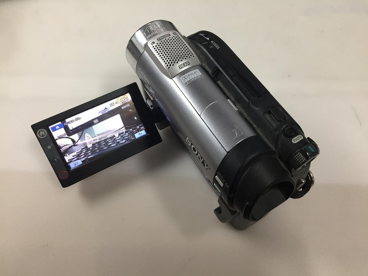 Видеокамера Sony DCR-DVD710E запись на DVD и флешку