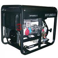 Генератор дизельный HYUNDAI DHY6000LE-3 + колеса