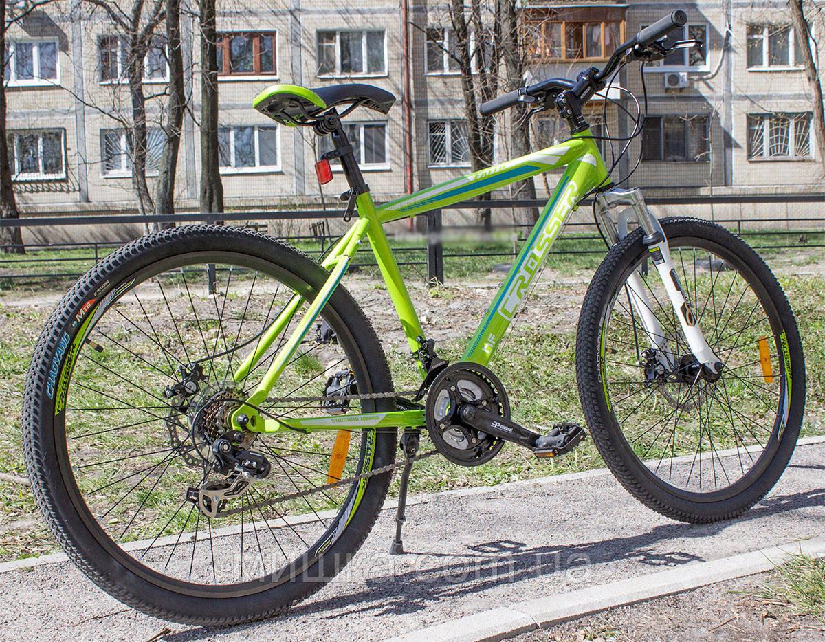 """Велосипед горный Crosser Faith*18 26"""" зеленый"""