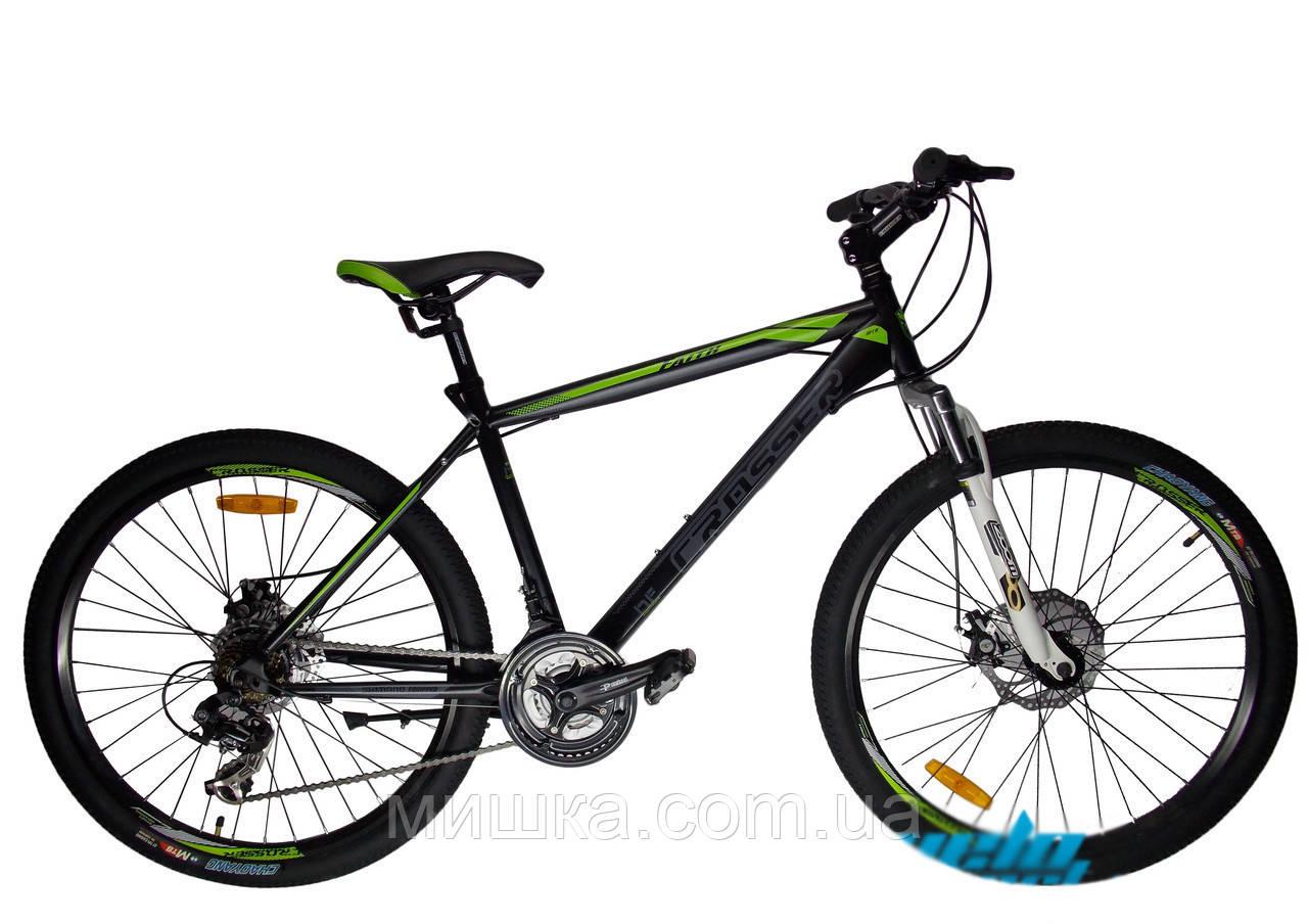 """Велосипед горный Crosser Faith*20 26"""" черный"""
