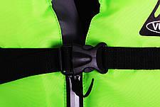 Спасательный жилет с воротником Vulkan Neon green 70-90 кг, фото 2