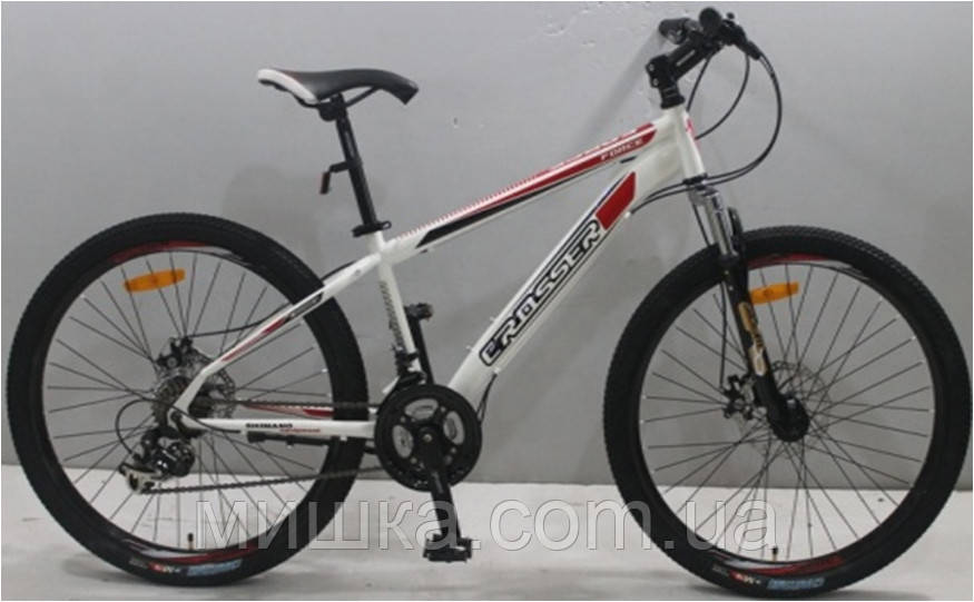 """Велосипед гірський Crosser Force (135) NEW G-FR/D-1 26"""" синій"""