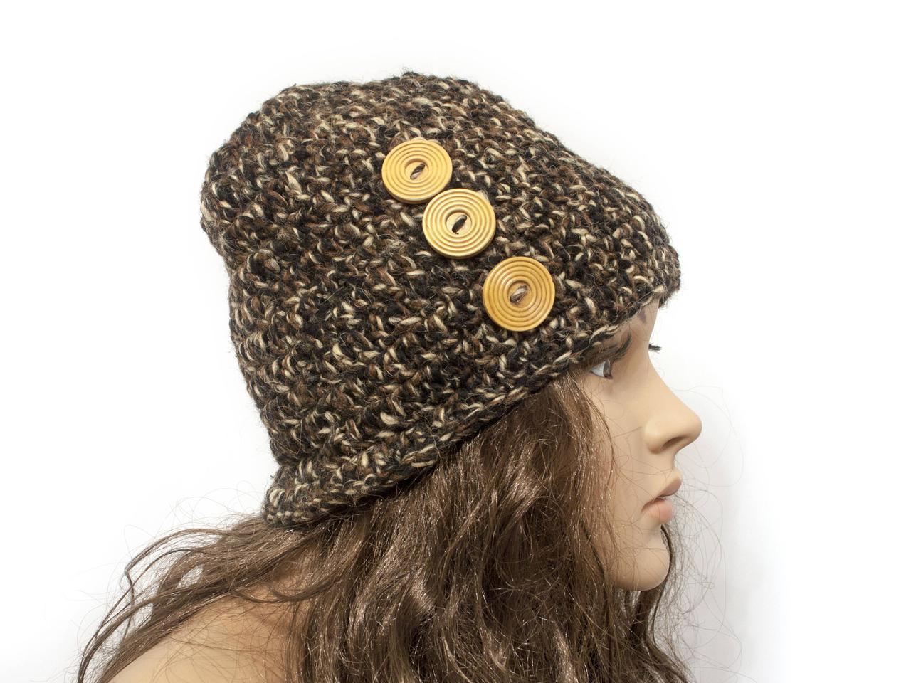 Шапка, женская вязаная шапка, HandMade шапка, модная стильная шапка