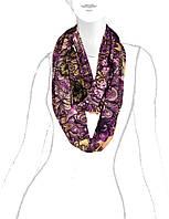 Яркий шарф снуд в 2х цветах D59-1173