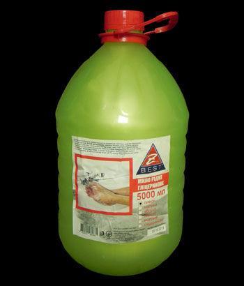 Жидкое мыло Z-BEST лимон 5л