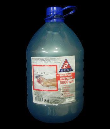 Жидкое мыло Z-BEST морское 5л