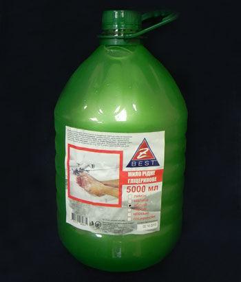 Жидкое мыло Z-BEST яблоко 5л
