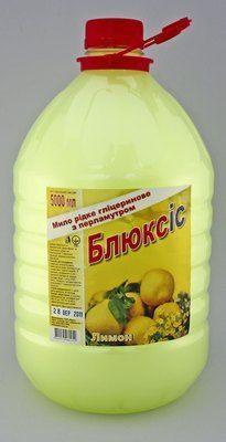 Жидкое мыло Блюксис лимон 5л Укр.