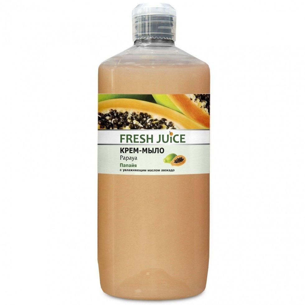 Жидкое мыло-крем Fresh Juice папайя 1000г