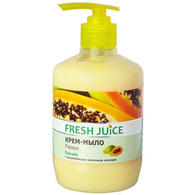 Жидкое мыло-крем Fresh Juice папайя 460г с дозатором Укр.