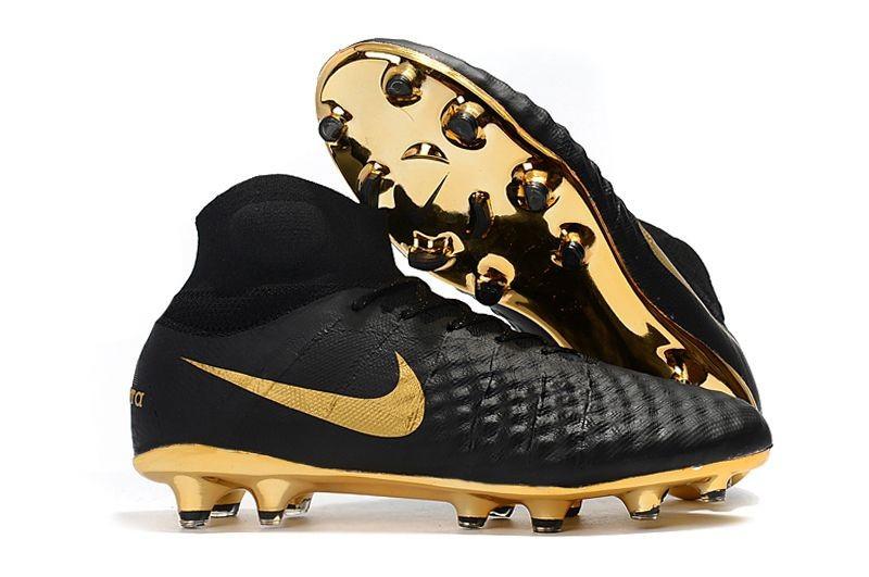 d032f7af Бутсы Nike Magista Obra 2 FG с носком black/gold - Интернет-магазин