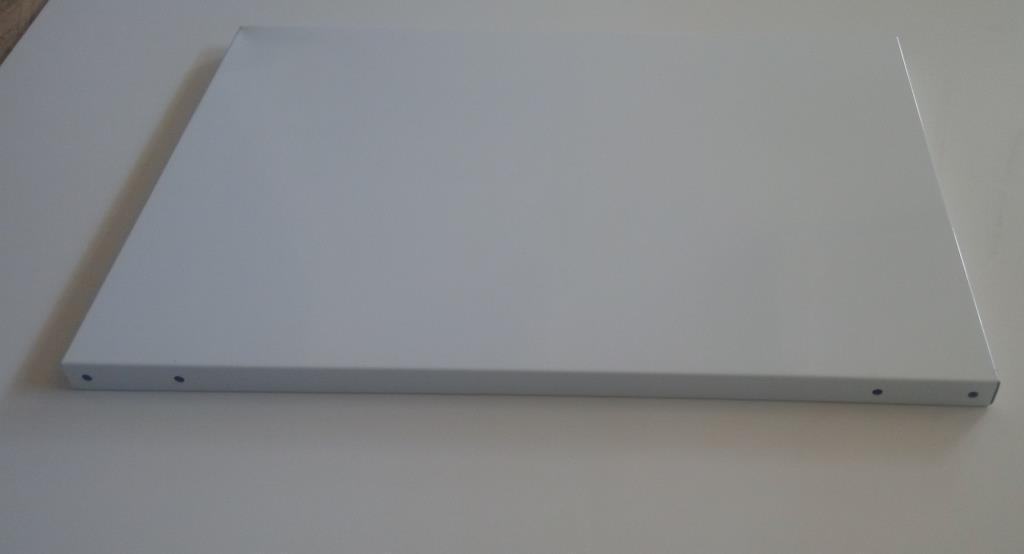Полка металева для складського металевого стелажа