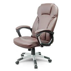 Кресло офисное ARIZO. Цвет коричневый.