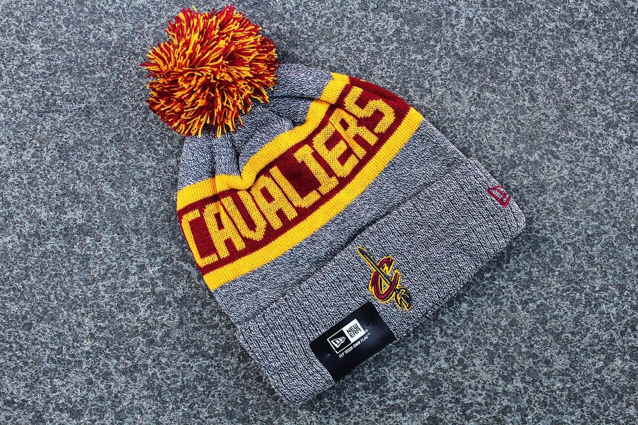 Шапка зимняя Cleveland Cavaliers / SPK-408 (Реплика)