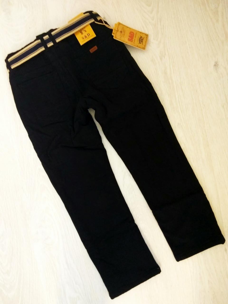 Котоновые брюки на флисе для мальчиков, Венгрия, S&D, рр. 6,16 лет., Арт. XEE-053,