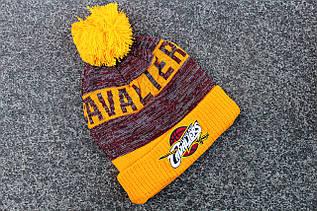 Шапка зимняя Cleveland Cavaliers / SPK-409 (Реплика)