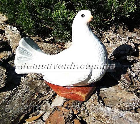 Садовая фигура Голубка, фото 2