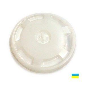 Крышки КВ-95 50шт белые, Коричневые для бумажных стаканов (500-520мл)