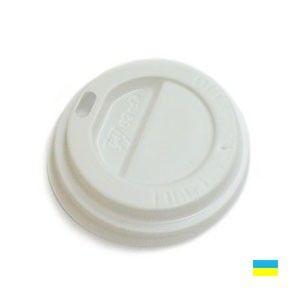 Крышки КР-69 для стаканов (на бумажный стакан 175мл) 50шт белые, коричневые