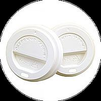 Крышки КР-75 для стаканов (на бумажный стакан 250мл) 50шт белые, коричневые